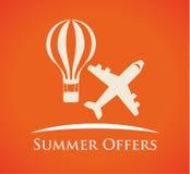 Summertime design Stock Images