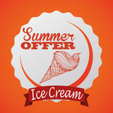 Summertime design Royalty Free Stock Images