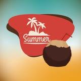 Summertime design Stock Photos