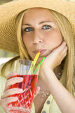 Summertime Drinks Royalty Free Stock Images