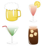 Summertime Drinks Royalty Free Stock Image