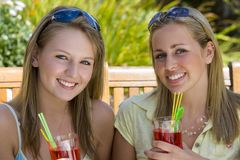 Summertime Friends Royalty Free Stock Photography