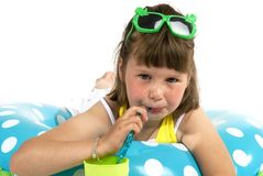 Summertime-girl Royalty Free Stock Photo