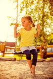 Summertime girl outdoor Royalty Free Stock Images