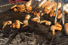 Summertime Grilling Stock Photography