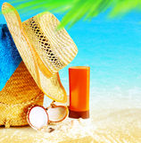 Summertime holidays background Royalty Free Stock Photography