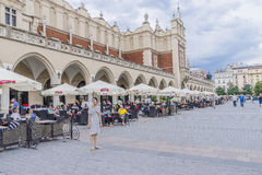 Summertime in Krakow, Poland Royalty Free Stock Images
