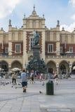 Summertime in Krakow, Poland Stock Images