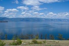 Summertime at lake Baikal Royalty Free Stock Image