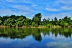Summertime landscape Royalty Free Stock Photo