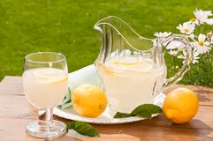 Summertime Lemonade Royalty Free Stock Photography