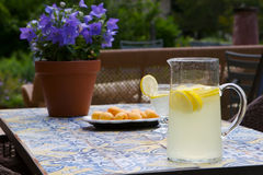 Summertime lemonade Royalty Free Stock Image