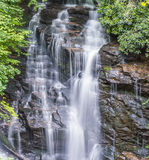Summertime Mountain Waterfall Stock Photo