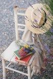 Summertime reading Stock Photos