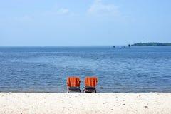 Summertime Beach Retreat Stock Image