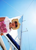 Summertime sailing vacation Royalty Free Stock Photography