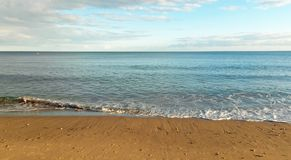 Bournemouth beach in the summertime. Stock Photography