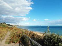 Bournemouth beach in the summertime. Stock Image
