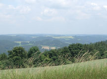 Summertime scenery in Thuringia Royalty Free Stock Photography