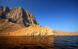 Summertime Seascape. Nature of Oman royalty free stock images