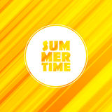 Summertime straight lines shiny background. Royalty Free Stock Photos