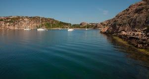 Summertime on swedish coast Stock Photos
