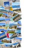 Summertime travel collage Royalty Free Stock Images