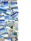 Summertime travel collage Stock Photography