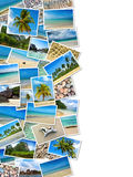 Summertime travel collage Stock Photo