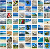 Summertime travel collage Royalty Free Stock Photography