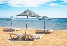 Summertime in the turkish resort. Stock Photos