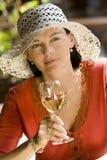 summertime wine Στοκ Φωτογραφίες