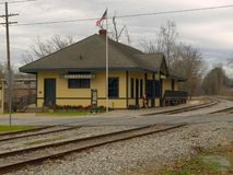 Summerville, Georgia Depot USA stock photos