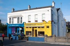 Summervilles咖啡馆和商店在Greystones 库存照片