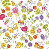 summery предпосылки флористическое Стоковые Фотографии RF