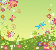 Summery background Stock Image