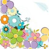 summery bakgrund Royaltyfria Foton