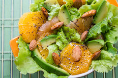 Summery Citrus Salad Stock Image