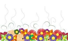 Summery Hintergrund Stockfotos
