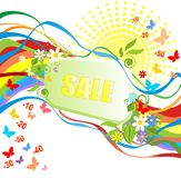 Summery sale Stock Photo