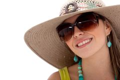 Summery woman Stock Photography