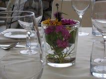 Summery zakrywający stół Fotografia Stock