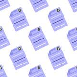 Summier Pictogram naadloos patroon Bedrijfsconceptenbehang vector illustratie