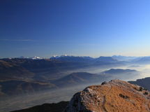 summit in the alps Royalty Free Stock Photo