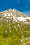 A summit in the Alps Royalty Free Stock Photography
