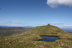 The summit of Ben Hiant in Western Scotland. Royalty Free Stock Photo