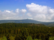 Summit of the Brocken Royalty Free Stock Image