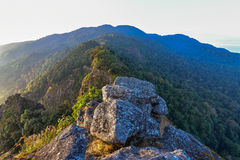 The Summit for camping in the forest at Chiang mai. The Summit for camping in the forest at Chiang mai, Thailand Royalty Free Stock Photography