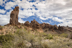 Summit Canyon in the Kofa Wilderness Royalty Free Stock Image