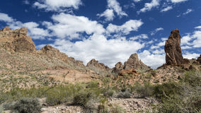 Summit Canyon in the Kofa Wilderness Royalty Free Stock Images